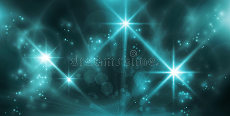Download Abstract blue lights stock vector. Illustration of entertainment - 26436916
