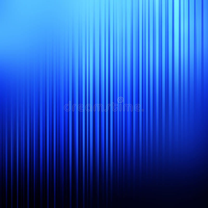 Abstract Blue Linear Background. An abstract blue toned background with vertical lines and blur