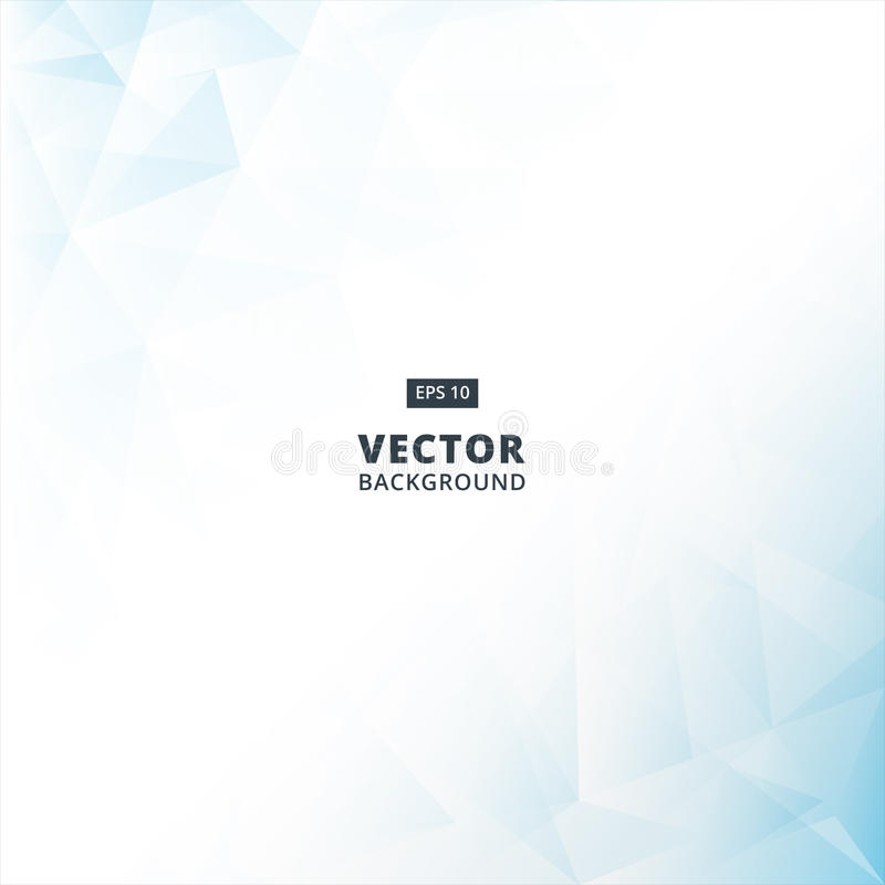Abstract blue Lowpoly vector background. Template for style royalty free illustration