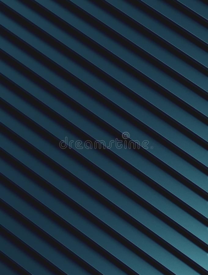 The abstract blue metal pattern background. 3D illustration.  vector illustration
