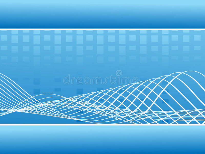 Download Abstract Blue Music Wavy Lines - Vector Stock Vector - Image: 3983411