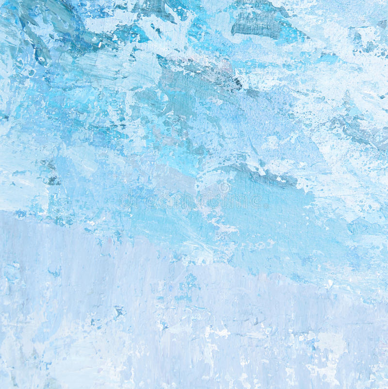 Abstract blue painted background royalty free stock photo