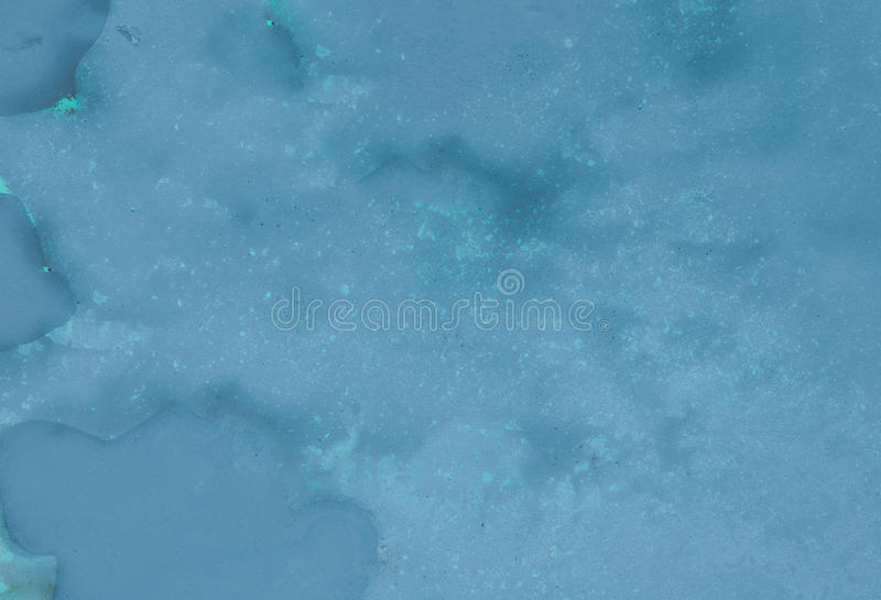 Abstract blue painted background stock photography