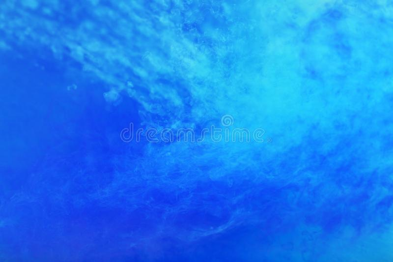 Abstract blue painting stock photos