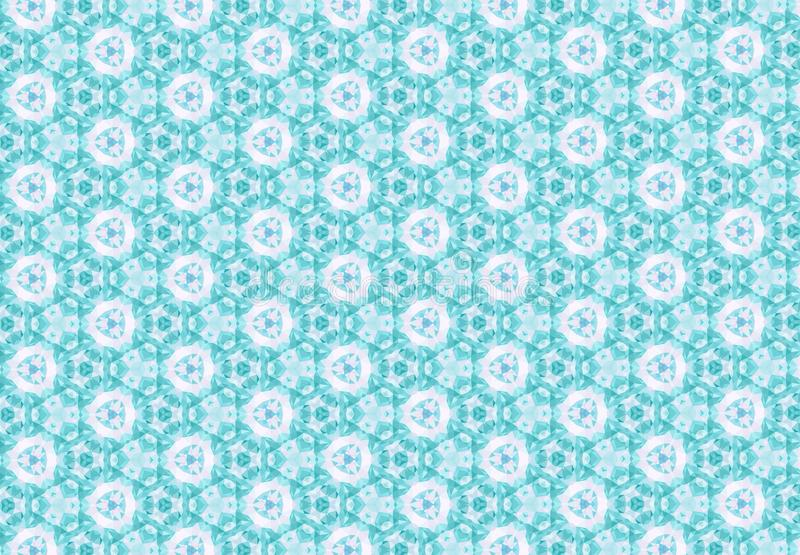 Download Abstract Blue Pink Flower Pattern Wallpaper Stock Photo