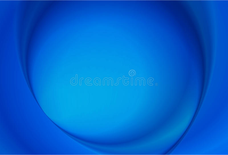Abstract Blue Radial background stock illustration