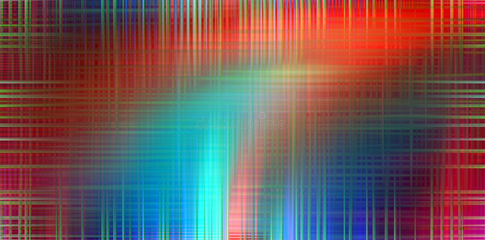 Abstract blue red lights background, colors, shades abstract graphics. Abstract background and texture. Abstract blue red lights, lines background, lights and stock illustration
