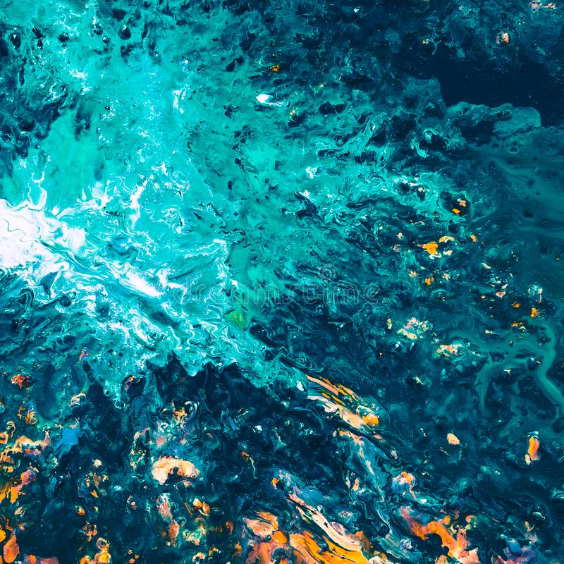 Free Abstract Blue Sea Reflection Paint Art Background Stock Photo - 148129470
