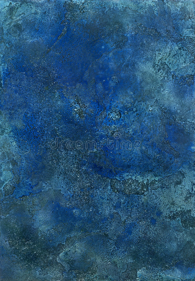 Abstract Blue Surface Stock Image