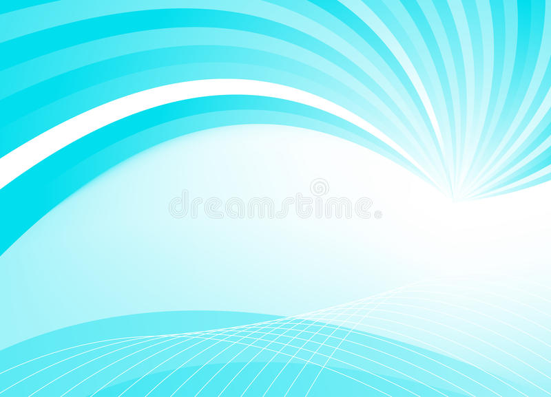 Abstract blue template vector illustration