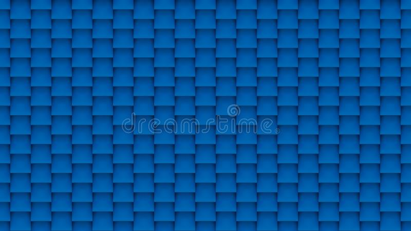 Abstract blue tiles background royalty free illustration