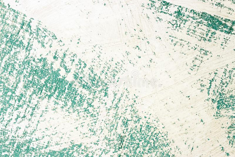 Abstract blue uneven surface painted with white paint, background, texture royalty free stock photography