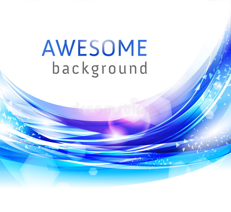 Abstract blue vector backgrounds vector illustration