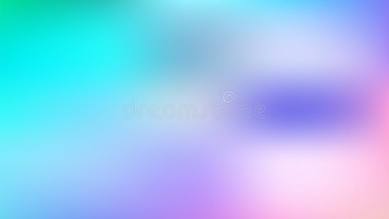 Abstract blue violet pink gradient background stock illustration