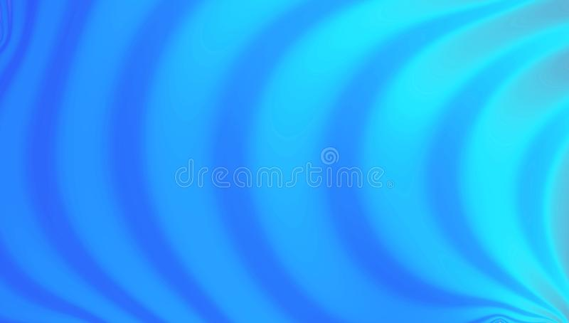 Abstract blue vortex background, neon holographic ripples. Blue vortex background, neon holographic ripples royalty free illustration