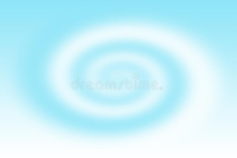 Abstract blue vortex background . royalty free illustration