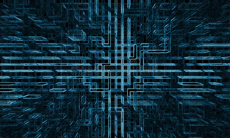 Abstract futuristic wallpaper stock photography