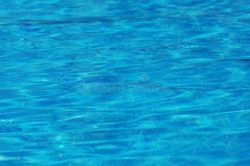 Abstract blue water surface background texture stock image