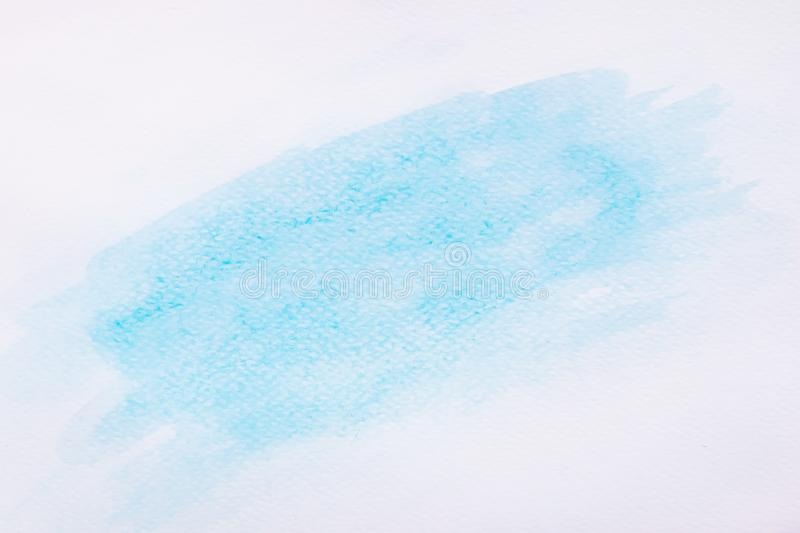 Abstract Blue Watercolor art hand paint background in high resolution royalty free stock images
