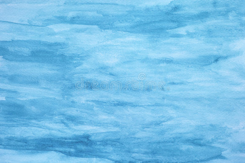 Abstract blue watercolor background. Close up royalty free stock image