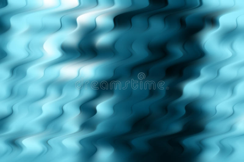 Abstract blue waves. An illustration of blue abstract blurry waves background stock illustration