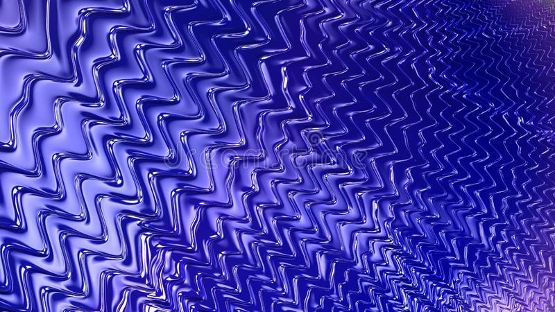 Abstract blue wavy lines with gradient texture. Abstract royal blue liquid waves textured background stock photography