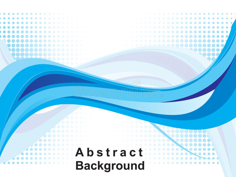 Abstract blue web background. Illustration royalty free illustration