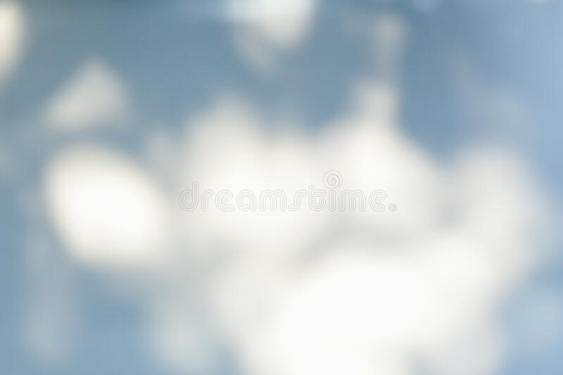 Abstract blue and white blurred background.Soft blurry bokeh background. Minimalism in tones and moods are useful in many projects royalty free stock images