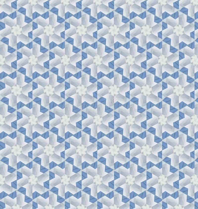 Download Abstract Blue And White Color Pattern Wallpaper Stock Illustration