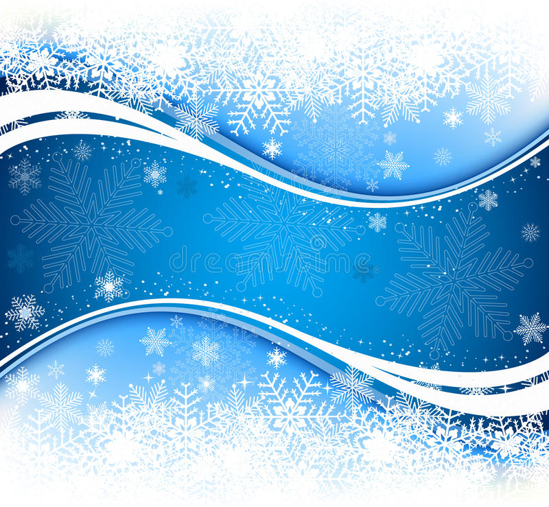 Free Abstract Blue Winter Background Stock Images - 11510494