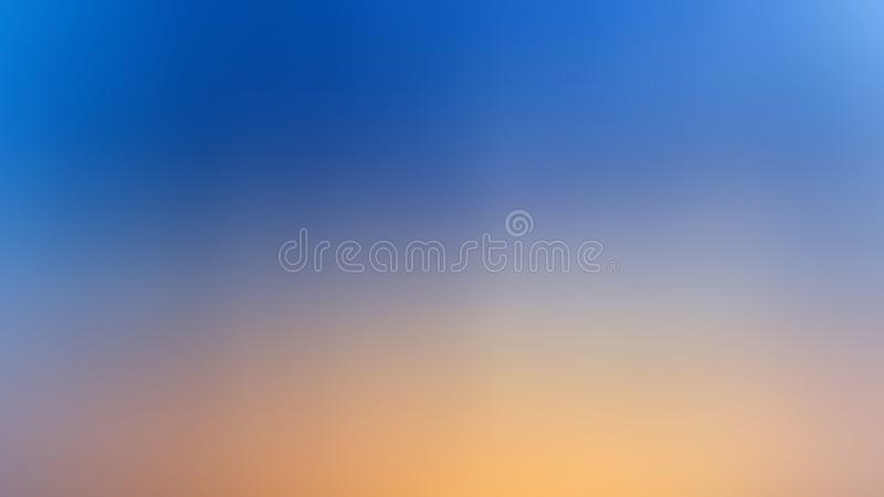 Abstract blur backgroud gradient blue and yellow color. Abstract soft blur backgroud gradient blue and yellow color royalty free stock images