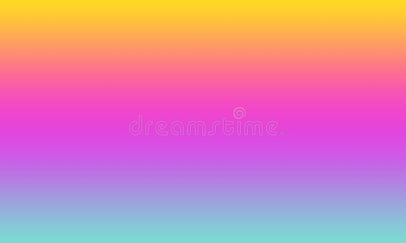 Abstract blur background,rainbow colors lighting for background stock illustration