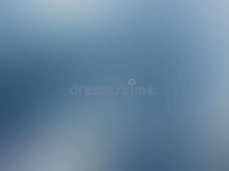 Blue shaded abstract blur background wallpaper, vector illustration. royalty free stock photography