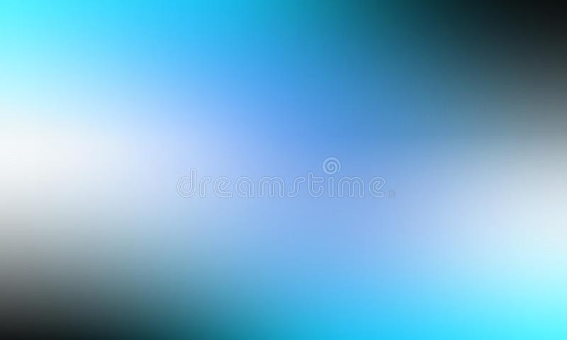 Blue blur abstract shaded background wallpaper, vector illustration. stock photos