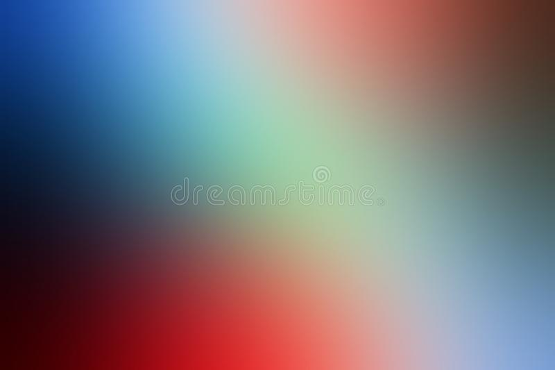 Colorful blur abstract shaded background wallpaper, vector illustration. stock image