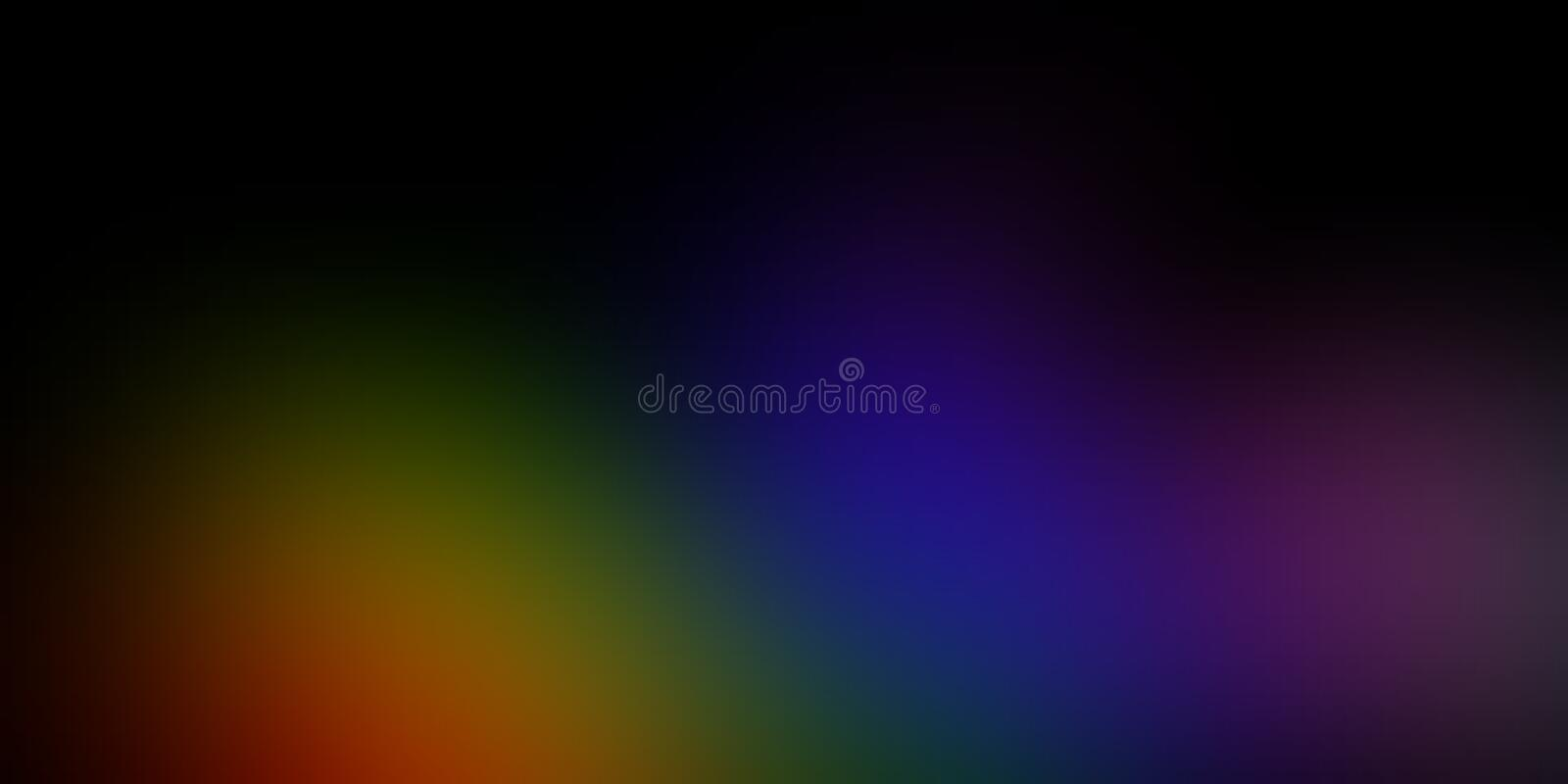 Colorful blur abstract shaded background wallpaper, vector illustration. stock images