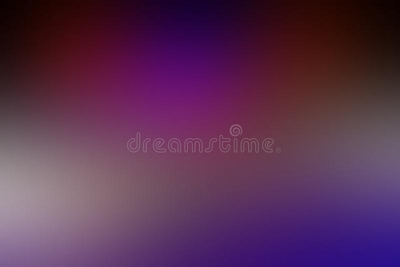 Multicolored blur abstract shaded background wallpaper, vector illustration. stock images