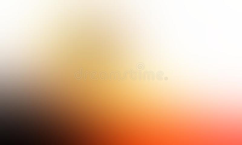 Orange blur abstract shaded background wallpaper, vector illustration. royalty free stock image