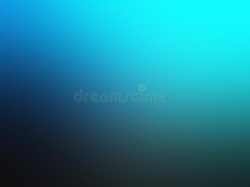 Blue shaded abstract blur background wallpaper, vector illustration. royalty free stock photo