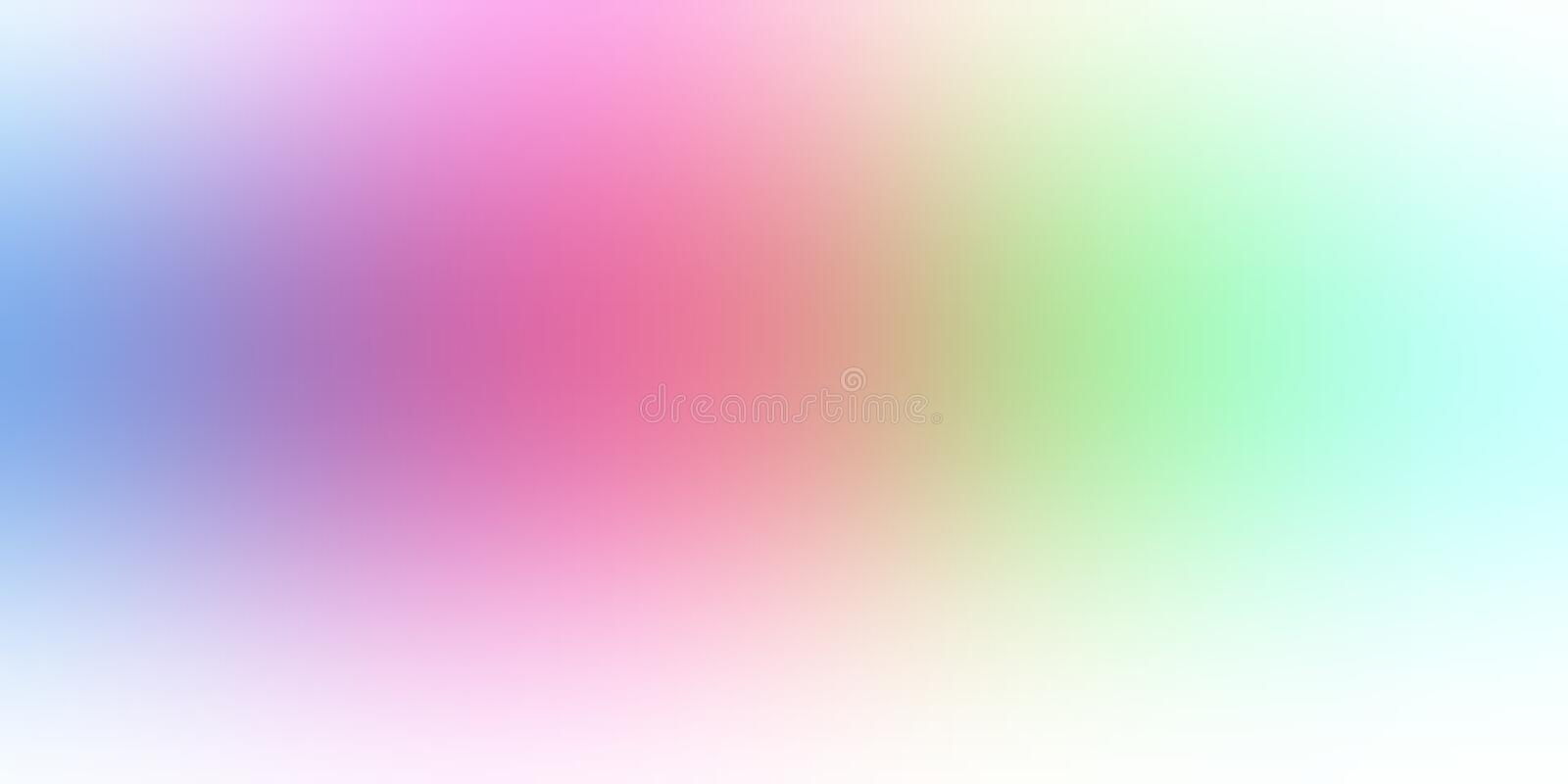 Pastel color abstract blur background wallpaper, vector illustration. royalty free stock photo