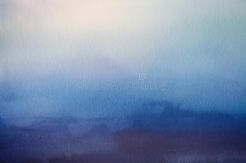 Abstract blur background. Watercolor paper overlay. royalty free stock images