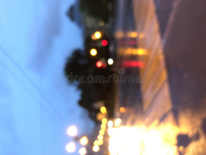 Abstract blur backround of city and street light at night in Saint-Petersburg. Abstract blured backround of city and street light at night in Saint-Petersburg stock image