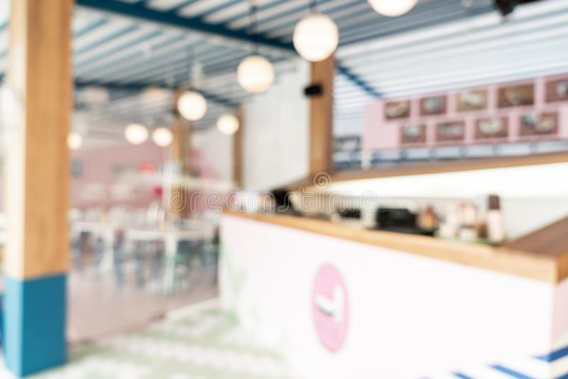 Abstract blur cafe restaurant. For background stock photos