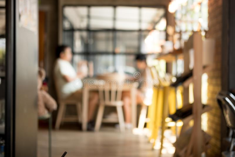 Abstract blur coffee cafe shop or modern cafeteria concept. Abstract blur and defocused coffee cafe shop or modern cafeteria concept royalty free stock photo