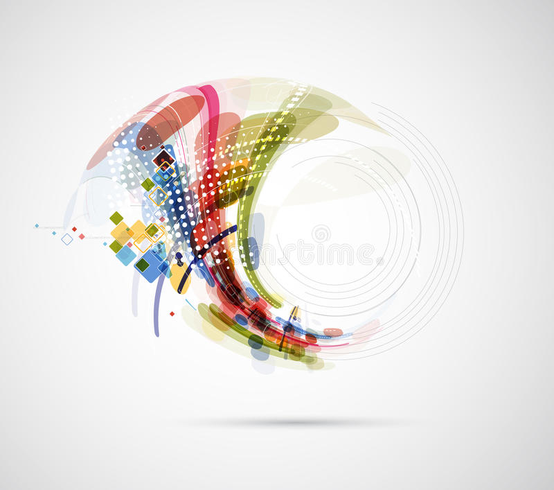 Download Abstract Blur Computer Technology Business Connection Stock Illustration - Image: 32028227