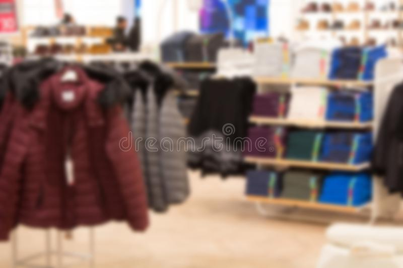 Abstract blur and defocused beautiful shopping mall of deparment store for background. Abstract blur and defocused beautiful shopping mall of deparment store royalty free stock photography