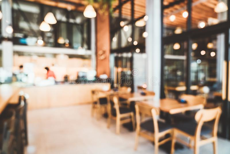 abstract blur and defocused cafe restaurant stock images
