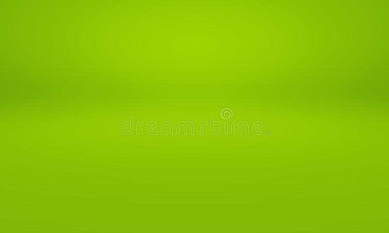 Abstract Blur Empty Green Gradient Studio Well Use As Background ...