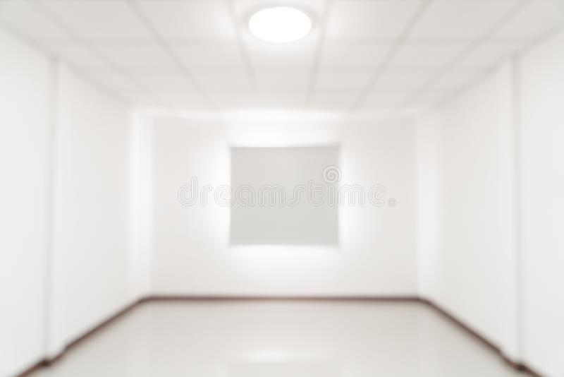 abstract blur empty room with window and curtain royalty free stock photography