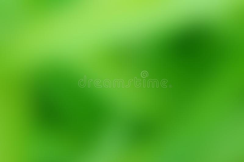 Abstract blur green color for background, green bokeh nature royalty free illustration